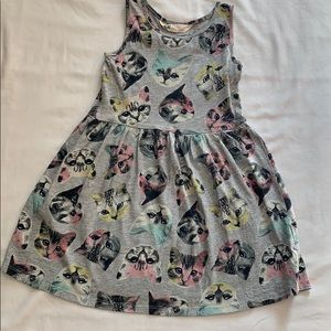 H&M Cats Sundress Sz 4-6